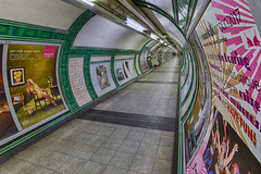 Time travel (sarah_presh) Tags: embankment tube station underground london colours tunnel nikond750 hdr