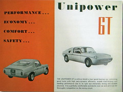 Unipower GT Mk.1 (1966-68) (andreboeni) Tags: classic car automobile cars automobiles voitures autos automobili classique voiture retro auto oldtimer klassik classico classica publicity advert advertisement unipower gt sports bmcmini mini austin morris