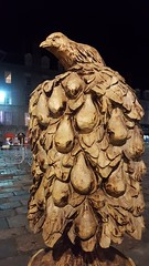 Twelve Days of Christmas Aberdeen - A Partridge In A Pear Tree (Royan@Flickr) Tags: twelve days of christmas wooden carvings trail garry shand wood carver aberdeen 2016