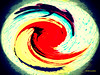 Twirl (Stephenie DeKouadio) Tags: canon art artistic abstract abstractart painting color colour colorful twirl spherize