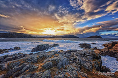 A view from Runde Island (Usstan) Tags: wind costal winter water day sea norway seasons blue sunnmøre runde herøy harsh d750 landscape lens coxi westcoast outdoor rough rocks 1224mm locations storm ocean wideangle waves norge art sigma colors seascape møreogromsdal sky clouds nikon no