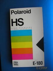Polaroid - Blank Tape (daleteague17) Tags: blank vhs tapes blankvhstapes pal palvhs videotape blankvideotape polaroid