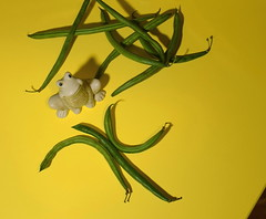 Ж као жаба (mi ne volimo šalu) Tags: asymmetry yellow green stringbeans greenbeans cyrillic ž ж frog frogsview figurines ornament lines colour crazytuesdaytheme diagonal food vegetables minimalism negativespace organic perspective pattern plant stillife texture view text 7dwf letters