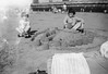 1966 Blackpool (1) (Colin John Ford) Tags: blackpool beach castle child digging found old sand seaside spade vintage