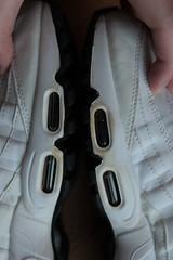 AIR MAX 95 WHITE / BLACK 2014 609048-109 10US / UK9 / 44EUR / 28CM USED OG NOTHING (WOOKASH_WOOKASH) Tags: air max 95 white black 2014 609048109 10us uk9 44eur 28cm used og nothing