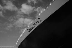 QM2 (David S Wilson) Tags: panasonicdmctz100 2016 davidswilson caribbean adobelightroom6 cunard bvi tortola bw queenmary2
