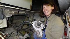 15. Februar 2017: Motor ausbauen