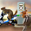 Want to fill? (jaci XIII) Tags: bomba gasolina esquilo animal roedor gasoline pump squirrel rodent