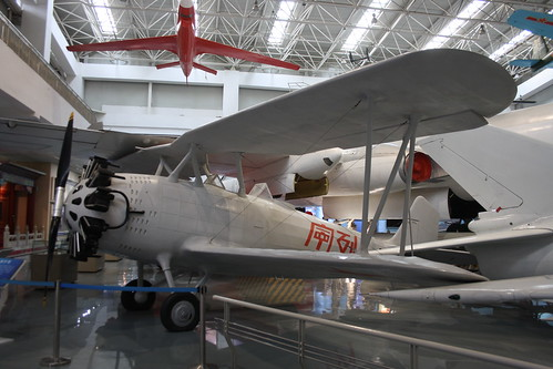 China Vought V-65C1 Corsair replica number 2, China Aviation Museum, Chinese, Xiaotangshan 30th October 2016