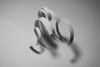 Whirl. (mi ne volimo šalu) Tags: justwhitepaper macromondays abstract asymmetry artistic blackandwhite cut cutpaper closeup circle curl light lines macro minimalism monochrome negativespace ornament organic pattern paper shadow white
