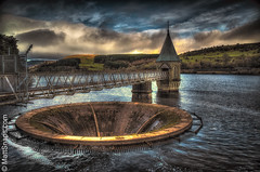 Pontsticill Reservoir (MattSnapsPhotography) Tags: drinking wales trees pump reservior nature water brick sky sump hills sun lake waves architecture engineering structure authority utility tap piped storage mass old valley brecon pontsticill