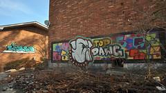 DSC_1604 (rob dunalewicz) Tags: 2017 atlanta abandoned urbex graffiti tags cinco lsd aub