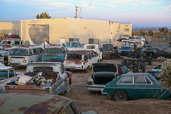 Awesome junkyard in Yucca Valley, CA (vetaturfumare - thanks for 2 MILLION views!!!) Tags: yuccavalley joshuatree junkyard skrotbil 廃車体 wreck rust schrott desert öken california studebaker wagonaire