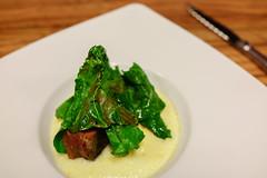 Gregorio cooks at Beef Shop (Premshree Pillai) Tags: zagreb croatia zagreboct16 beefshop food dinner tastingmenu dinnerforone