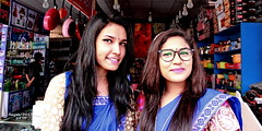 Made in Bangladesh (sajan-164) Tags: madeinbangladesh girls ditf sales export fair dhaka crescentlake bangladesh sajan164