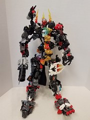 LEGO The Face Stealer (legobuildersb) Tags: lego robot vehicle cannon weapon bionicle