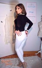 Tight White Jeans (jessicajane9) Tags: tg trans lgbt tgirl transgender gurl crossdressing m2f feminised transvestite tv cd crossdresser xdress tgurl