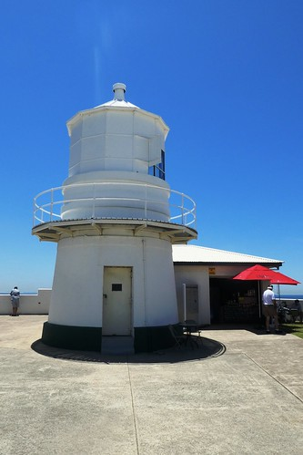 Newcastle NSW Nobby`s Head Lighthouse