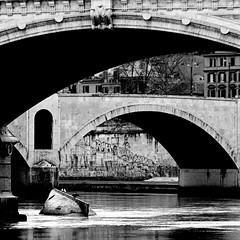 Tevere, Roma (pom.angers) Tags: panasonicdmctz30 february 2017 rome roma lazio italy italia europeanunion bridge tevere tiber 100 150 200