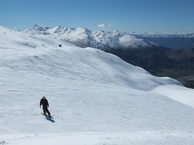 Top of Main Steet, Treble Cone Wanaka NZ (9 Sept 2013)