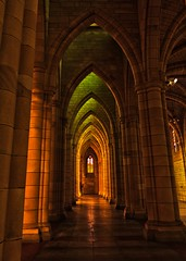 48/100 - Through The Arches (Fiona Dawkins) Tags: church arches brisbane hdr stjohnscathedral image48100 100xthe2015edition 100x2015
