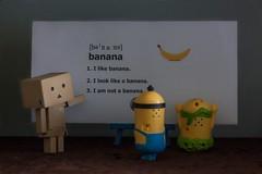 Banana class (Michael@Yang) Tags: banana minions danbo danboard