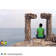 #Repost @cocphotography with @repostapp. ・・・ To the world through a window. #Lebanon #LiveLoveLebanon #Selaata #Sea #Beach #Wave #Water #Rock #Rocks #Warm #white #Blue #Shape #Green #Photography #Batroun #old #Man #hope (Waelboy) Tags: square squareformat iphoneography instagramapp uploaded:by=instagram