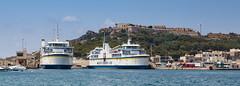 Malta Gozo Ferries in Mgarr Ferry Port (Chris J Hart) Tags: ferry malta gozo mgarr ghajnsielem fortchambray gajnsielem