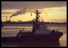 returning tug (Neil Tackaberry) Tags: county morning port sunrise river dawn boat early marine ship neil vessel estuary shannon co tugboat tug limerick countylimerick foynes rivershannon neilt colimerick shannonestuary tackaberry neiltackaberry foynesport wildatlanticway celticisle