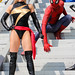 Ms. Marvel and Spider-Man.