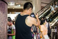 Tattoo... (anthonyleungkc) Tags: lumix hongkong candid olympus snap panasonic asph f28 omd lightroom 2015 vario m43 mft em5 1235mm microfourthirds x1235 gundamdocks