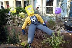 Minion Scarecrow (weirdoldhattie) Tags: party urban bristol scarecrow streetparty minion horfield bs7 egertonroad egertonrd