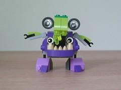 LEGO MIXELS DRIBBAL VAKA-WAKA MIX Instructions Lego 41548 Lego 41553 Mixels Series 6 (Totobricks) Tags: mix lego howto instructions build munchos series6 mixels glorpcorp totobricks lego41553 dribbal vakawaka lego41548