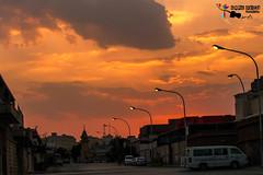 ফুরিয়ে আসা  দিনের আলো (Kamrul Ɓhuiyaŋ) Tags: sunset sky canon evening saudiarabia