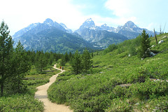 (karina yeznaian) Tags: mountains nature digital forest canon nationalpark woods wilderness tetons nationalparkservice grandteton