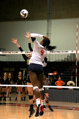 Swing (RPahre) Tags: volleyball huff huffhall champaign illinois nayacrittenden swing universityofiowa universityofillinois robertpahrephotography copyrighted donotusewithoutwrittenpermission