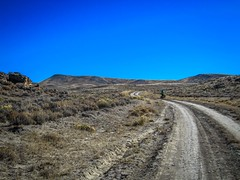 Rough roads in the Great Divide Basin.