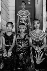 Murut tribe girls (Mohd Rizal Lakim) Tags: people white black girl north photojournalism borneo tribe potrait sabah journalism potraiture murut