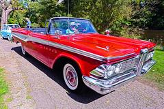 1959 Edsel (hz536n/George Thomas) Tags: show copyright fall car canon michigan edsel orphan ypsilanti 5d canon5d hdr carshow 2015 ef1740mmf4lusm cs5 5d2015copyright