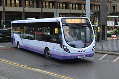 First Wright Streetlite 63151 SN14DXR - Manchester (dwb transport photos) Tags: bus manchester first wright streetlite 63151 sn14dxr