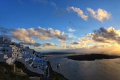 Traveling Through Time To Thira (Justin Kenneth Rowley) Tags: uploaded:by=flickrmobile flickriosapp:filter=nofilter