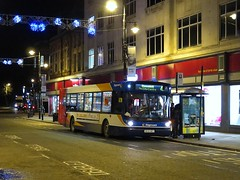 Stagecoach North East 22080 (NK54BGY) - 08-12-15 (peter_b2008) Tags: man buses transport alexander nightphotos coaches afterdark 22080 buspictures stagecoachnortheast alx300 stagecoachgroup stagecoachsunderland nk54bgy