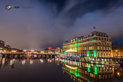 Intercontinental Amstel Hotel Amsterdam (alvifotografie) Tags: longexposure sky reflection netherlands amsterdam architecture clouds reflections hotel europa europe bright houseboat wolken tram avond mokum helder continent weesperplein province amstel intercontinentalhotel benelux rivier amstelhotel amsterdambynight amsteldijk woonboot amstelriver amsterdamcanals amsterdamcanal amsterdamcentrum deamstel amsterdamnight damhattan amsterdamphotography amsterdamchallenge amsterdamlightfestival igersamsterdam alvifotografie