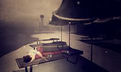 Oblivion.. (Lalie Sorbet SL) Tags: snow women scenery solitude nap mood moody sleep femme atmosphere scene sl secondlife neige paysage sim oblivion somme sunbeds scne oubli atmosphre loveoflife transats furilen laliesorbet
