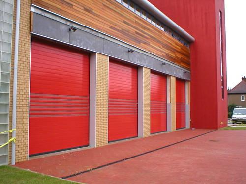 Швидкі ворота. Высокоскоростные ворота. Hi speed doors. Efaflex. Пожежно-рятувальна станція