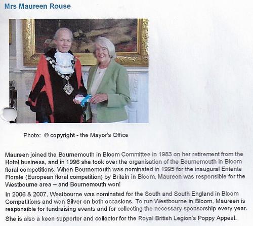Maureen Rouse 2012 by Rad Howard