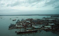 A view i could never tire of. No.2 (southseadave) Tags: a7 portsmouthharbour hmswarrior portsmouthhistoricdockyard fe2870