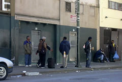 SF Tenderloin 1 (Parto Domani) Tags: california usa america golden casa san francisco state united homeless poor states tenderloin povert senza povero poveri