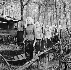 #Activists meet in the Nam Can forest, wearing masks to hide their identities from one another in case of capture and interrogation. Vietnam, 1972 [1200x1188] #history #retro #vintage #dh #HistoryPorn http://ift.tt/2gMYIFG (Histolines) Tags: histolines history timeline retro vinatage activists meet nam can forest wearing masks hide their identities from one another case capture interrogation vietnam 1972 1200x1188 vintage dh historyporn httpifttt2gmyifg