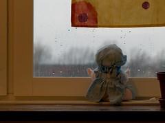 väntar på en lekkamrat. (waiting for a playmate.) (ros-marie) Tags: fs161211 vantan fotosondag